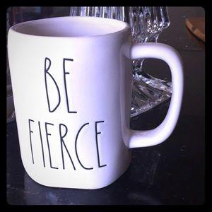 "Rae Dunn mug ""Be Fierce"""
